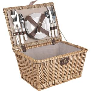 Photo PPI1130C : Willow picnic basket 4 persons