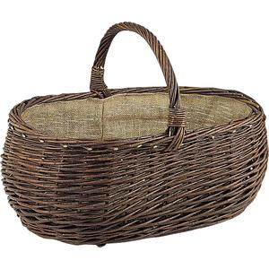 Photo PPR1070J : Willow basket with handle