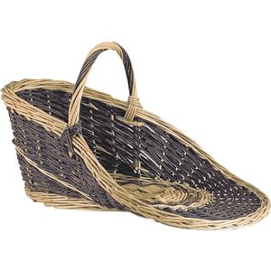 Photo PPR1110 : Willow display basket with handle