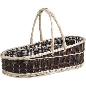 Photo PPR1230 : Willow display basket with handle