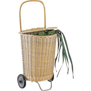 Photo PRO1030 : Chariot de marché en osier