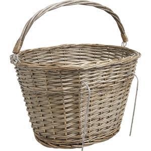 Photo PVE1140 : Grey willow bike basket