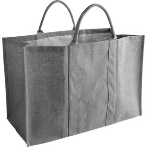 Photo SBU1060 : Sac à bûches en jute gris