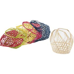 Photo SCF1100 : Bamboo basket with handle