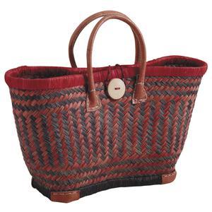 Photo SMA3780 : Rush and raffia shopping bag