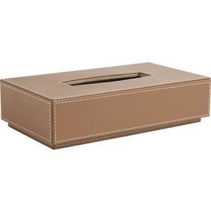 Photo TDI1500 : Imitation leather tissue holder box