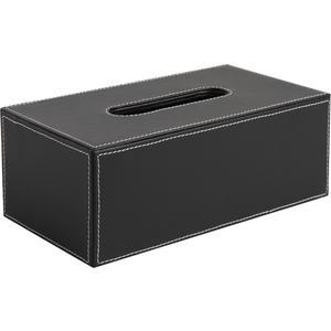 Photo TDI1520 : Imitation leather tissue holder box