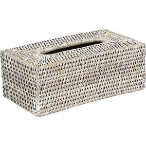 Photo TDI1560 : Rattan tissue holder box