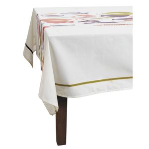 Photo TLT1060 : Nappe Poissons en coton enduit