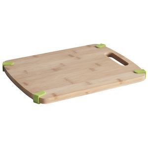 Photo TPD1190 : Planche à découper en bambou et silicone