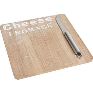 Photo TPF1640 : Bamboo cheese tray