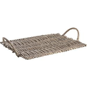 Photo TPL2550 : Grey washed willow cheese tray