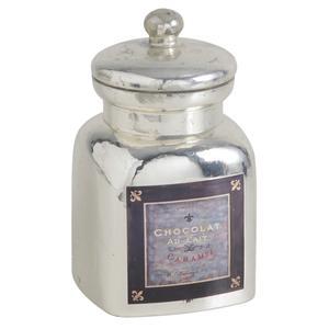 Photo TPO1260V : Boite à caramels en verre antique