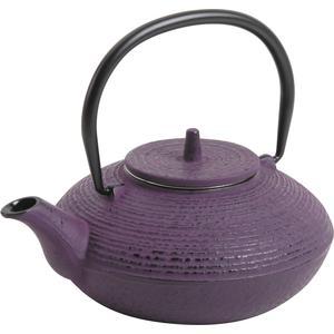 Photo TTH1100 : Théière en fonte violette 0.7 l