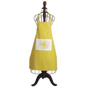 Photo TTX1690 : Tablier Citron en coton