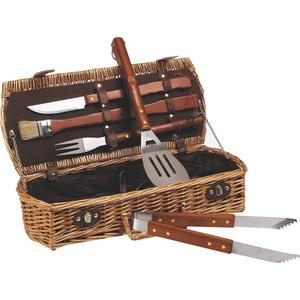 Photo VBQ1080C : Barbecue set with 5 tools