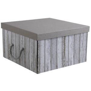 Photo VBT2830 : Boite pliable carrée en carton et corde