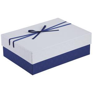 Photo VBT2881 : Boite cadeau bleue et blanche