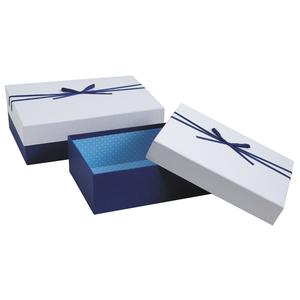 Photo VBT288S : Blue and white gift boxes