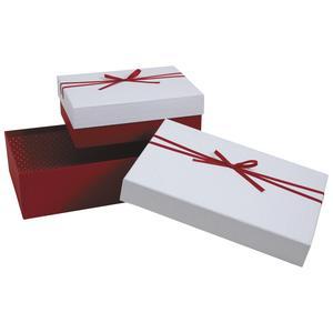 Photo VBT289S : Boites cadeaux rouges et blanches