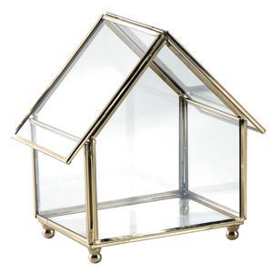 Photo VCO2480V : Coffret maison en laiton et verre