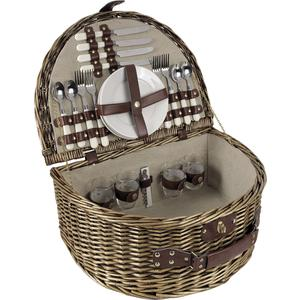 Photo VPI1220C : Willow picnic basket 4 persons