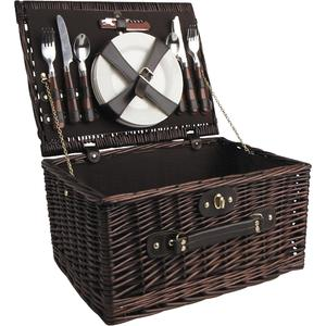 Photo VPI1260C : Willow picnic basket 4 persons