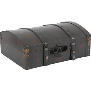 Photo VVA1491 : Valise en bois et cuir