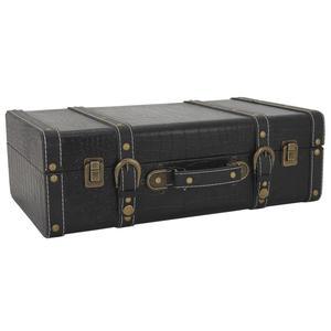 Photo VVA1892 : Valise en bois et simili cuir