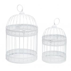 Photo ACA126S : White metal cages