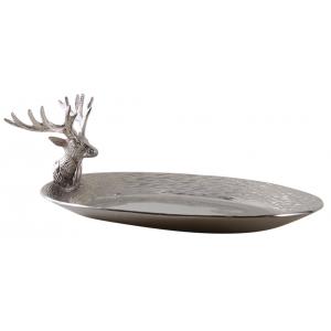 Photo CAN155S : Plateaux tête de cerf en aluminium