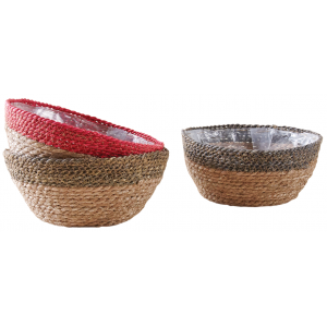 Photo CCO9572P : Stained hyacinth basket