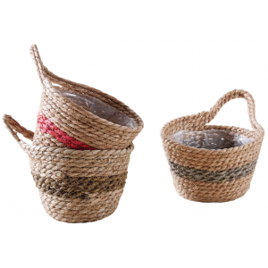 Photo CCO9581P : Stained hyacinth basket