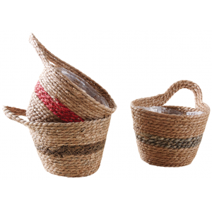 Photo CCO9582P : Stained hyacinth basket