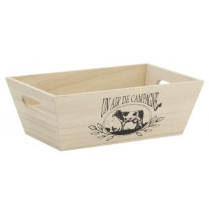 Photo CCO9610 : Pine wood basket - Campagne
