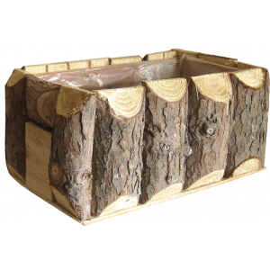 Photo CCO9700P : Rectangular wood basket