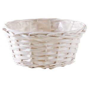 Photo CCO9761P : Whitewashed wood ball basket