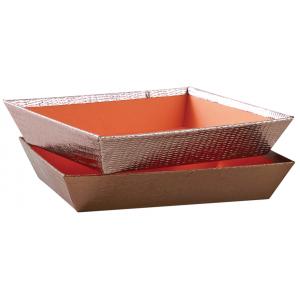 Photo CMA4741 : Rectangular cardboard baskets