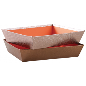Photo CMA4743 : Rectangular cardboard baskets