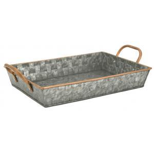 Photo CMA5140 : Rectangular metal basket