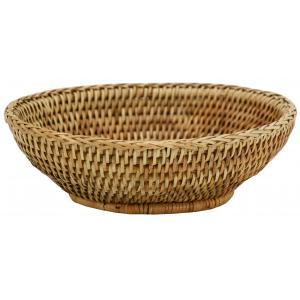 Photo CPA1880 : Round natural rattan bread basket