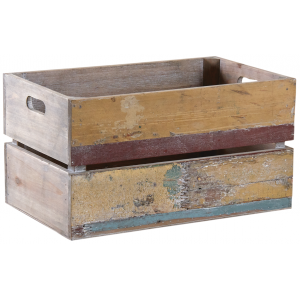 Photo CRA5680 : Recycled wood box