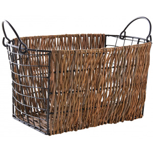 Photo CRA5770 : Unpeeled willow basket