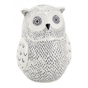 Photo DAN3150 : Ceramic cashbank Owl