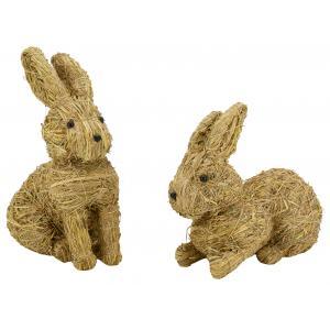 Photo DAN334S : Straw rabbits
