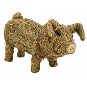 Photo DAN3350 : Straw and wooden cow