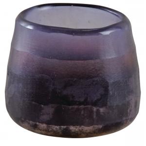 Photo DBO3400V : Photophore en verre violet