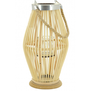 Photo DBO3591V : Natural rattan lantern