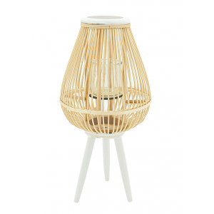 Photo DBO3601V : Natural rattan lantern