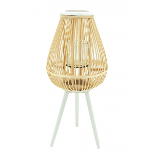 Photo DBO3602V : Natural rattan lantern